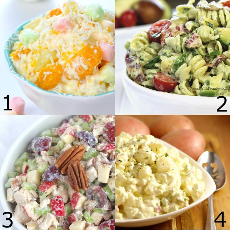 Easy picnic sides recipes
