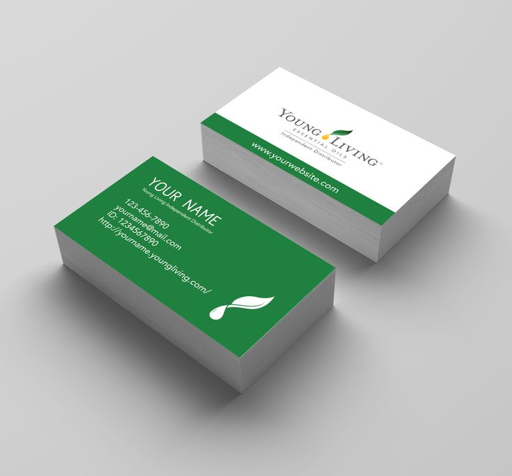 The 25+ best Young living business cards ideas on Pinterest ...