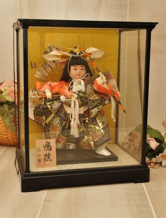 Reduced Japanese Musha Ningyo Boys Day Doll Sanurai By Dldowns 155 00 Boys Day Japanese