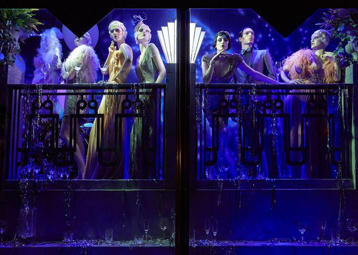 Great Gatsby Harrods Windows