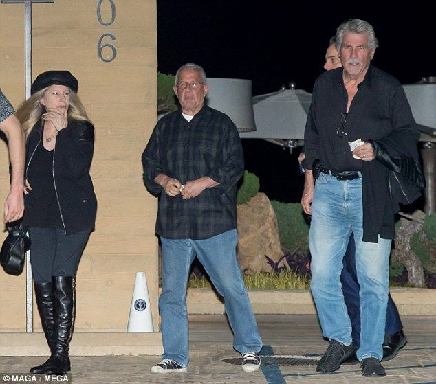 What a trio! Barbra Streisand and her husband Josh Brolin had dinner with Rom Meyer at Nobu in Malibu on Thursday