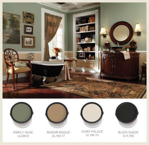 Bathroom Color Ideas Palette And Paint Schemes: Best 25+ Bathroom Colors Brown Ideas On Pinterest