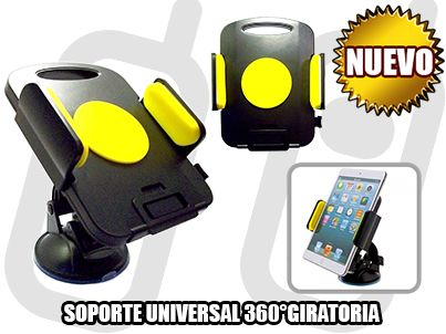 NUEVO*- SOPORTE UNIVERSAL *CAR MOUNT HOLDER* PARA TABLET 7 - 11 PULGADAS + 360°GIRATORIA [ ZYZ-139 ] - SOLO EN MGWIRELESS!!!  https://www.facebook.com/mgwirelesstj