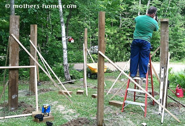 Fire Pit Swing Set {as seen on Pinterest} | Mother's Home