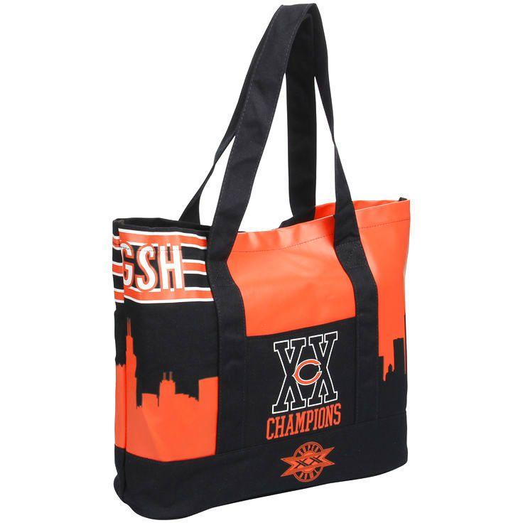 Chicago Bears Super Bowl XX Champions Commemorative Tote Bag - $27.99