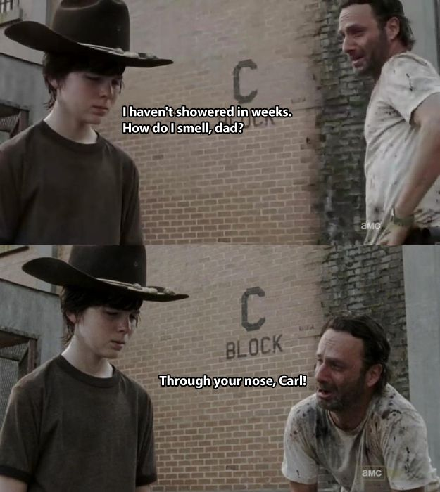 The 19 Greatest Dad Jokes From Rick Grimes to Carl Grimes - The Walking Dead