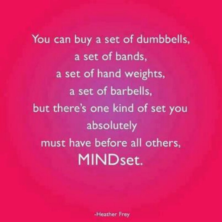 Have The Right Mindset Above All Else Crossfit