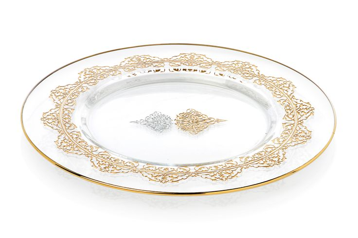 Bernardo Osmanlı Serisi Cam Tabak / Glass Platter #bernardo #glass #ottoman