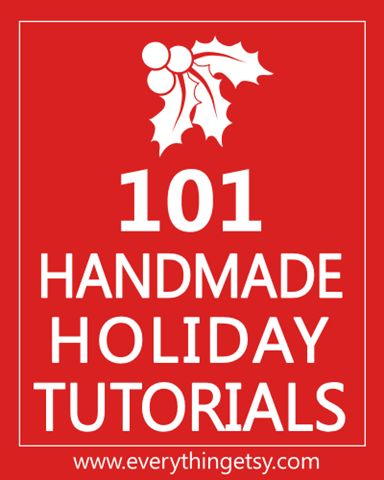 101 handmade gifts: Christmas Diy, 101 Handmade, Crafts Ideas, Holidays Crafts, Christmas Tutorials, Holidays Ideas, Handmade Christmas Gifts, Handmade Gifts, Christmas Ideas