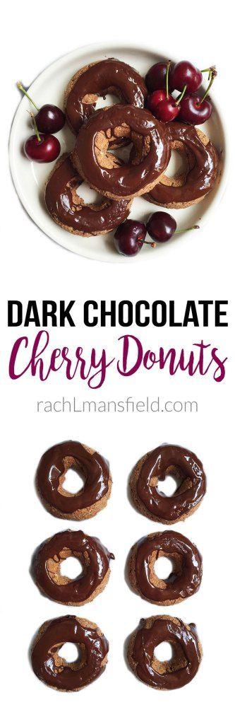 Grain-Free Dark Chocolate Cherry Scones Recipe — Dishmaps