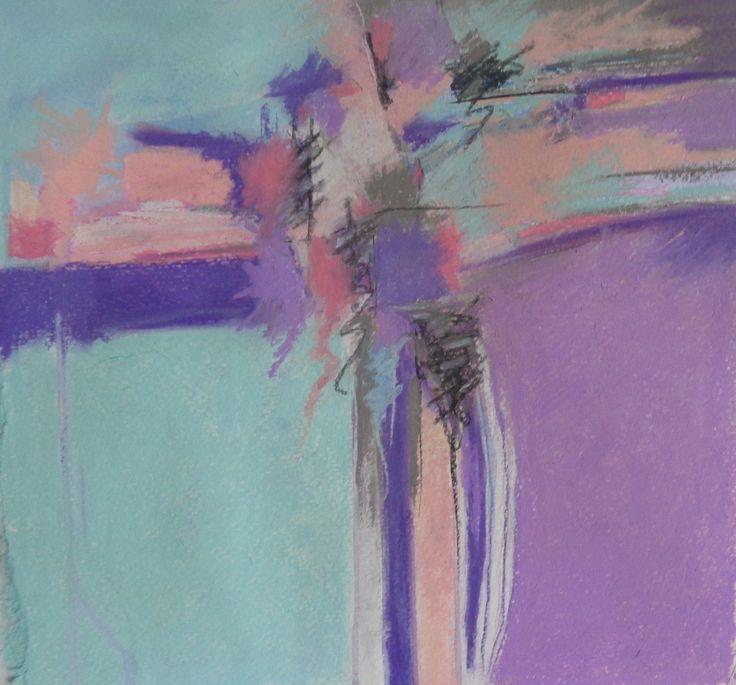 Calm Days in The Loft Pastel Jan Belgrave