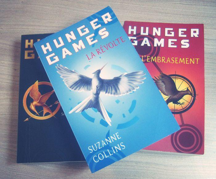 Hunger Games // La trilogie //* FNAC, AMAZON.... Occasion OK !