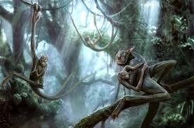 Картинки по запросу темный лес, сухие деревья, тени