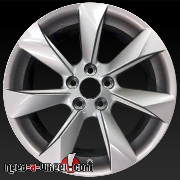 "2016 Lexus RX450H oem wheels for sale. 18"" Silver stock rims 74336 http://www.need-a-wheel.com/rim-shop/18-lexus-rx450h-oem-wheels-rims-silver-74336/ , #oemwheels, #factorywheels"