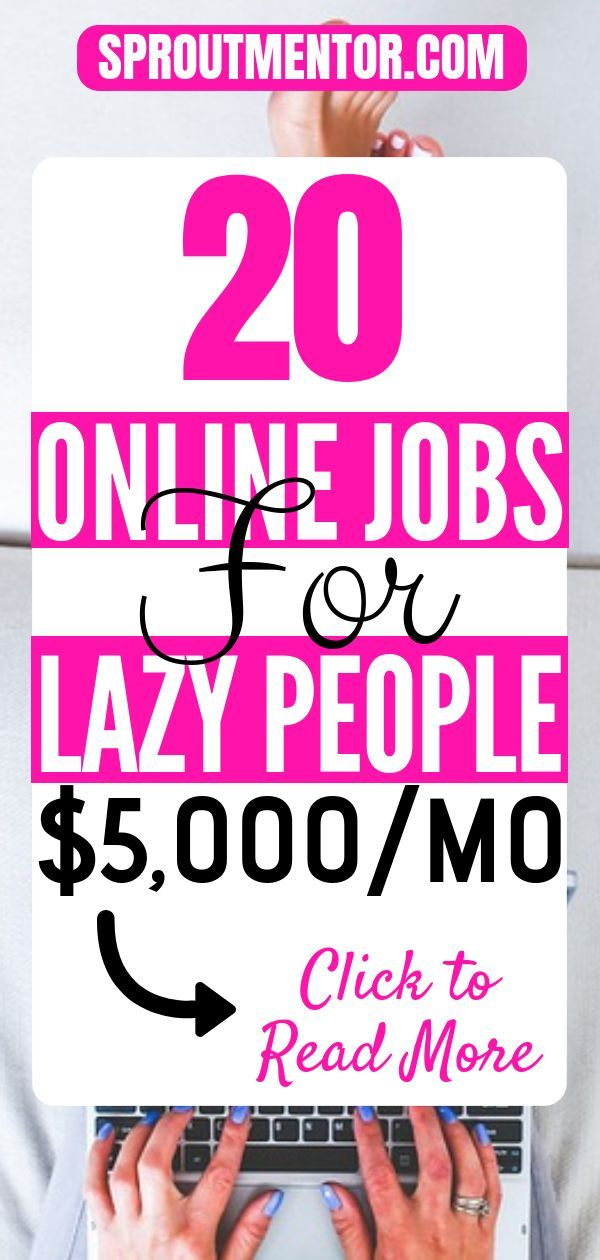 21 Easy Jobs For Lazy People – Work at home