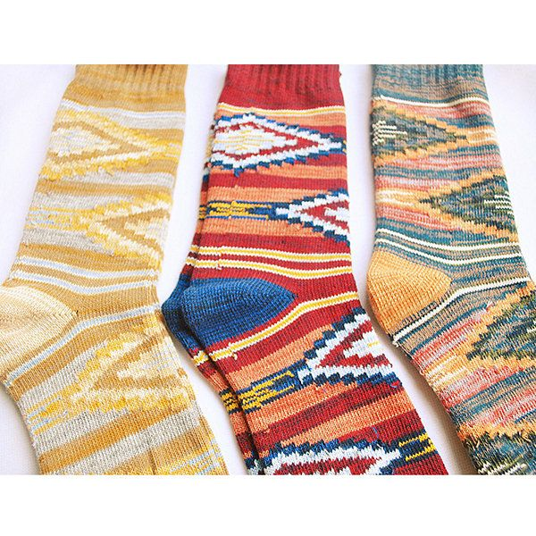 Women Vintage Comfortable Breathable Cotton Stripe Middle Tube Socks Fashion Knitted Socks