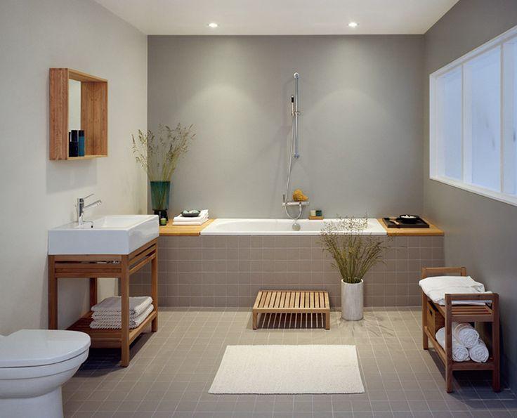 kakel badrum grå beige - Färgen på kaklet