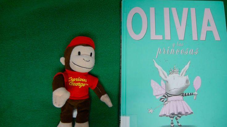 Olivia y Las Princesas BILINGUAL SPANISH/ENGLISH STORY READ ALOUD