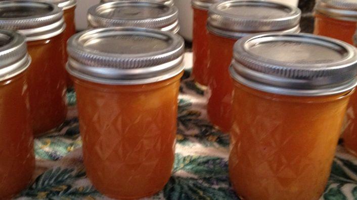 Cantaloupe Peach Jam Recipe Genius Kitchen Peach Jam Jam Recipes Peach Jam Recipe Make your own jam in the crock pot! cantaloupe peach jam recipe genius