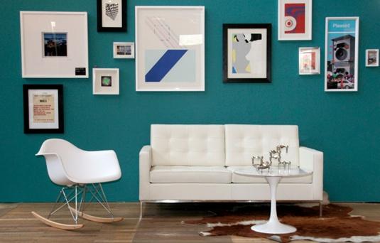 Bauhaus inspired interior