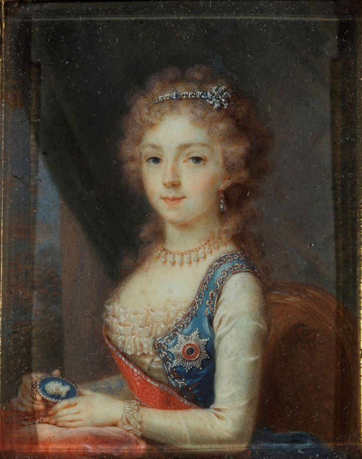 Grand Duchess (later Empress) Elizaveta Alexeievna of Russia by Borovikovsky.