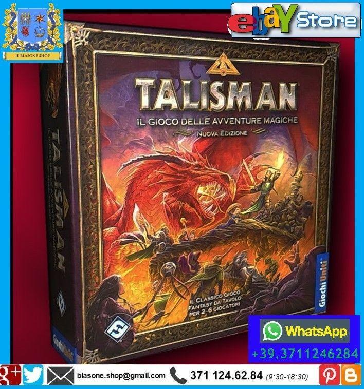 145 best giochi da tavolo soceta 39 board game rpg strategy - Talisman gioco da tavolo ...
