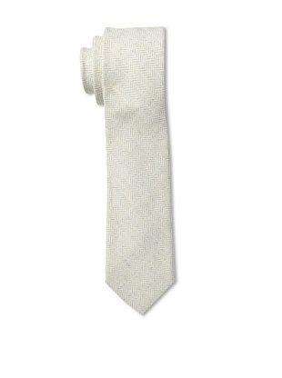 53% OFF Gitman Men's Herringbone Tie, Grey