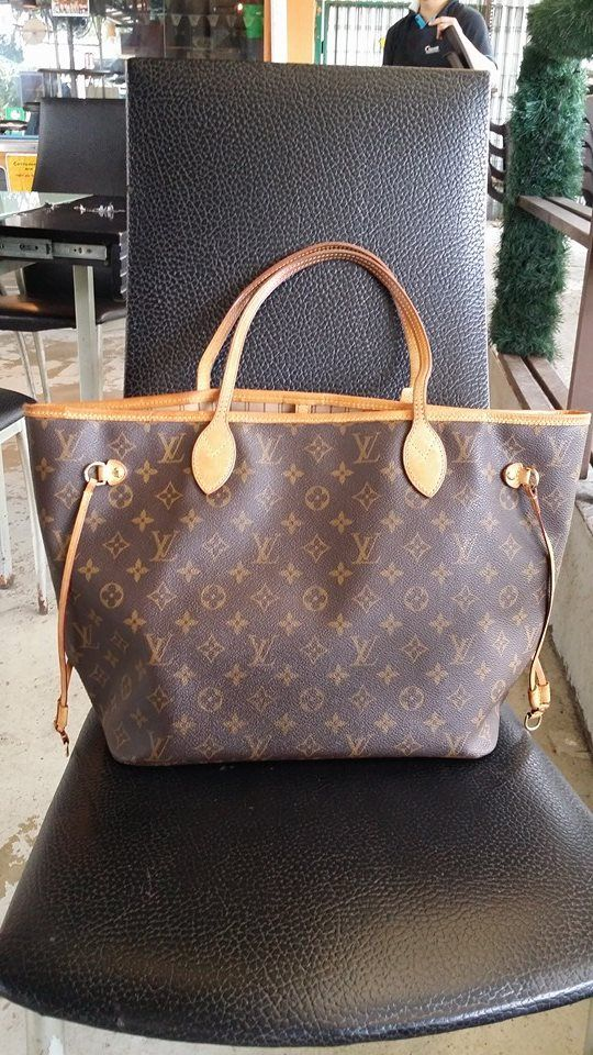 gucci used. Louis Vuitton Monogram Neverfull MM Used Condition 7/10 Selling At SOLD Tag#LV Gucci W