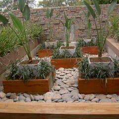 Jardines de estilo asiático de BAIRES GREEN MUEBLES