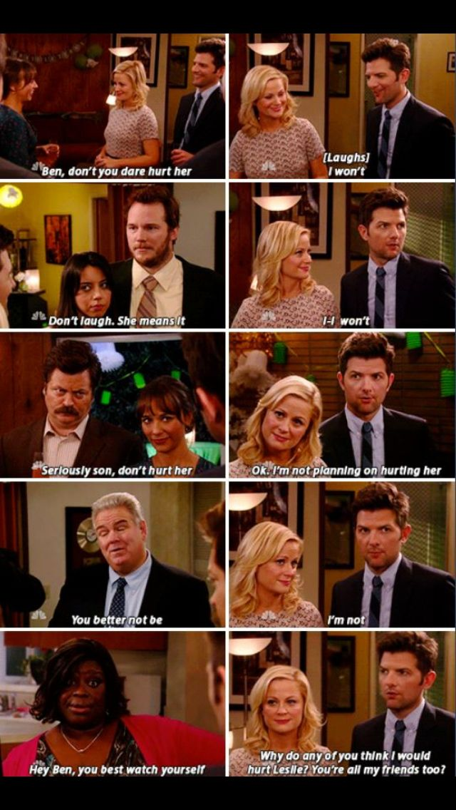 Leslie + Ben & Friends  #parksandrec