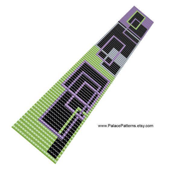 Peyote Stitch Bracelet Pattern and Bead Loom от PalacePatterns