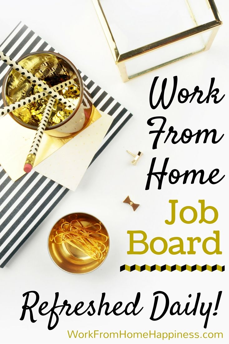 Remote, freelance, and work from home job listings from reputable companies. Search for jobs, bookmark your favorites, and create a custom job alert.