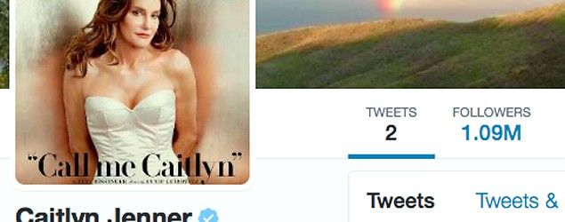 Caitlyn Jenner breaks Obama's record (Twitter)