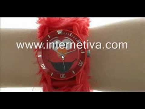 http://www.internetiva.com Sesame Street Kids SW4930EL Elmo Red Furry Slap Watch reviews;    http://internetiva.com Review By Cynthia @ January 7, 2013;  5 year old excited but sized big! Counting by 5's, and 10's, Got time curious. He was ready for this watch. Watched his watch all day. Happy Kid! However, note it is obvious for a child, this product is not...