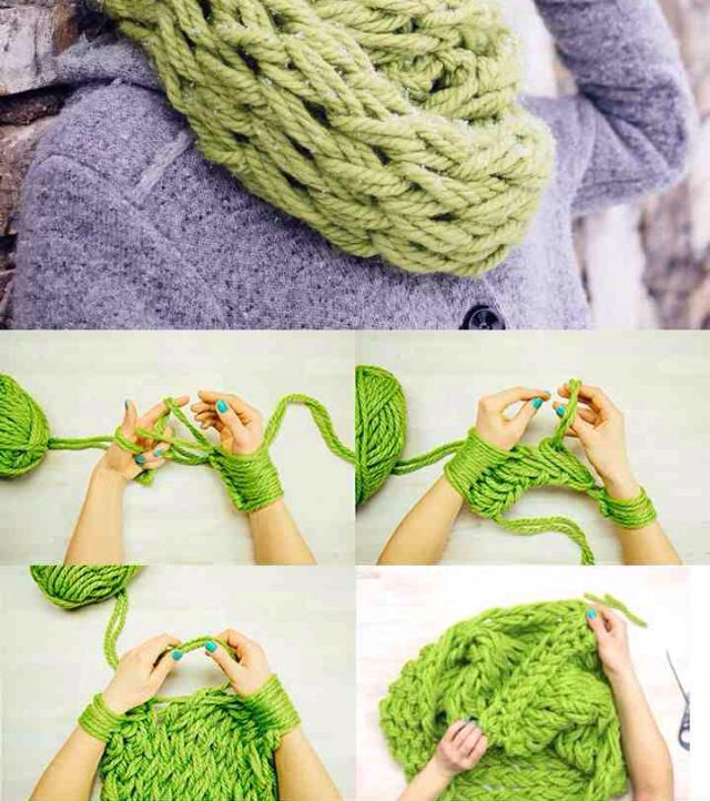 Fun scarf DIY!