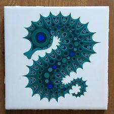 Kenneth Townsend Seahorse Tile Menagerie 5 Muramic Clappison Hornsea