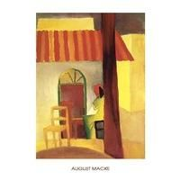 Caffe Turco By August Macke: Category: Art Currency: GBP Price: GBP33.00 Retail Price: 33.00 Der Blaue Reiter Hot Yellow Figurative Orange…