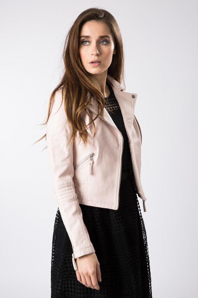Order now Pink Leather Jacket at Bungles through online