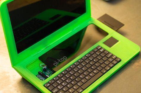 Laptop DIY realizada con impresión 3D que enseña sobre DIY | Impresoras 3D Argentina