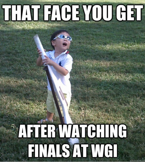 color guard memes, this kid looks like one of my students when he watches guard shows. :)