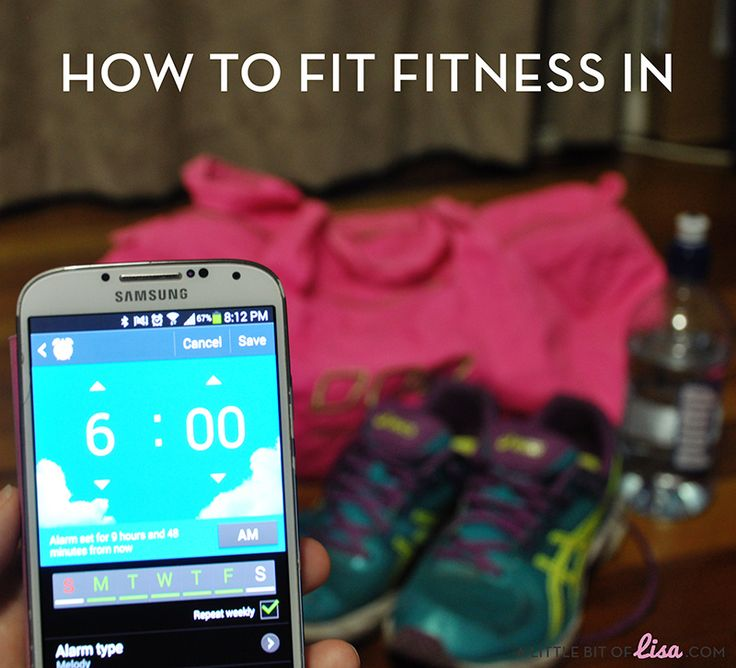 How to make exercise part of your daily routine | A Little Bit Of Lisa