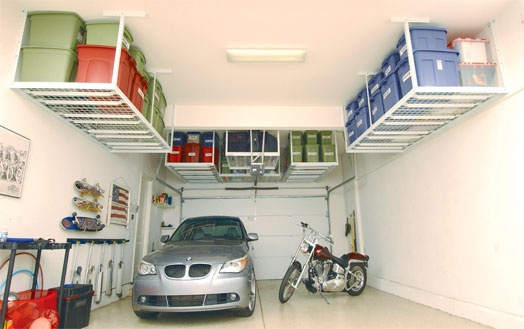 We had these in our SD garage. Great way to increase storage space
