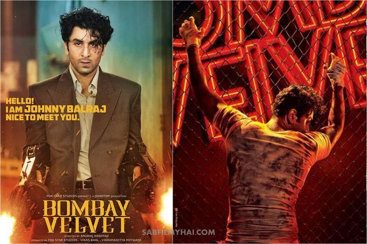 Bombay Velvet Movie First Poster Features Ranbir Kapoor