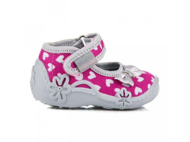 Detské topánky so srdiečkami MARYSIA/F1