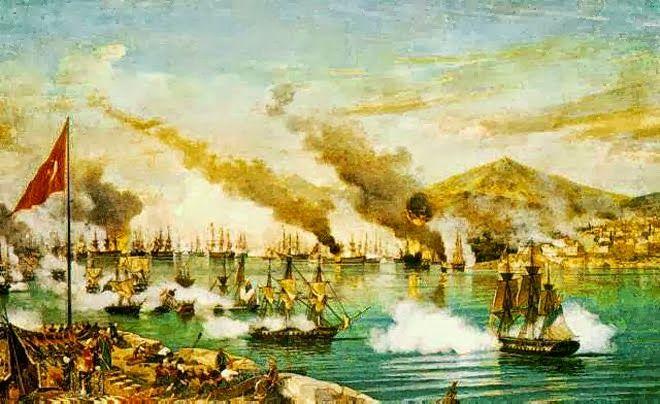 Η Ναυμαχία του Ναβαρίνου-Carneray,1827