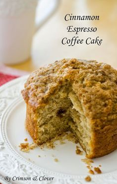 Coffee and cake have never tasted so sweet. Cinnamon and espresso are added to elevate a classic dish to a whole new world.
