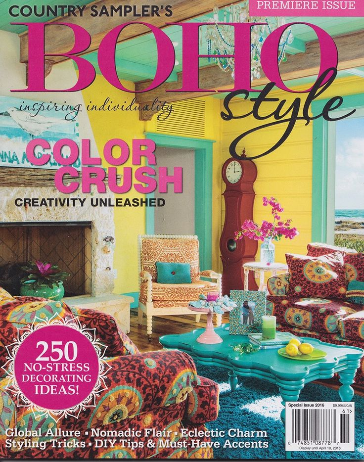 boho style magazine avail online in gypsyville .. chock full of amazing bohemian decorating ideas  - Junk GYpSy co.