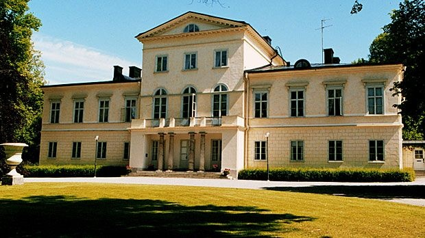 Haga Castle (Stockholm, Sweden). Today home for crown princess Victoria and her family.