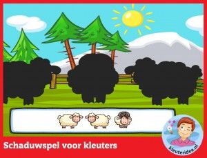 *▶Schaduwspel! kleuteridee.nl