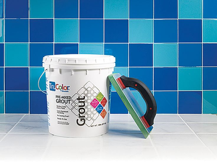 Bostik's TruColor premixed grout is pricey and sets quickly, but the nonporous urethane formula resists cracks, won't stain, and needs no sealing.  About $85 for a 9-pound bucket; csnstores.com